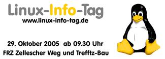 Sa., 29.10.2005: 3. Linux-Info-Tag Dresden